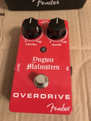 Pedal Fender Overdrive Yngwie Malmsteen Signature