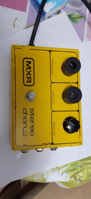 Vintage MXR Chorus stereo  de lo 70