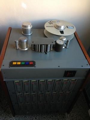 Grabadora de cinta 2 pulgadas ACES, 24 pistas