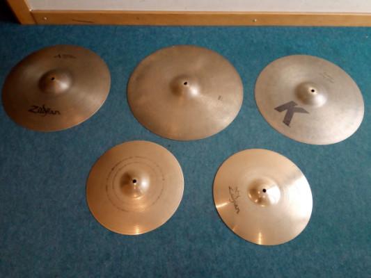 Set de platos Zildjian. Gama top