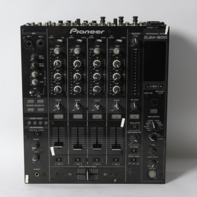 Mesa de mezclas PIONEER DJM-800 de segunda mano E321333