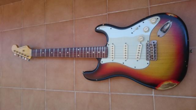Nash Stratocaster S-63 (posible cambio parcial)
