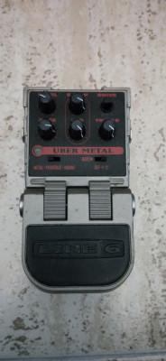 Pedal line6 urbe metal