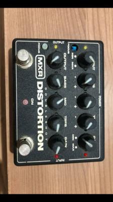 MXR Distorsión Doubleshot