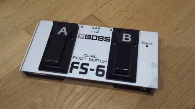 ///RESERVADO/// PEDAL BOSS FS-6