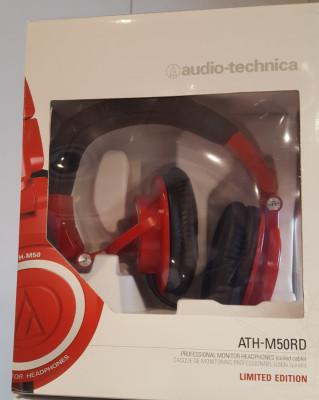 Auriculares AUDIO TECHNICA ATH-M50RD
