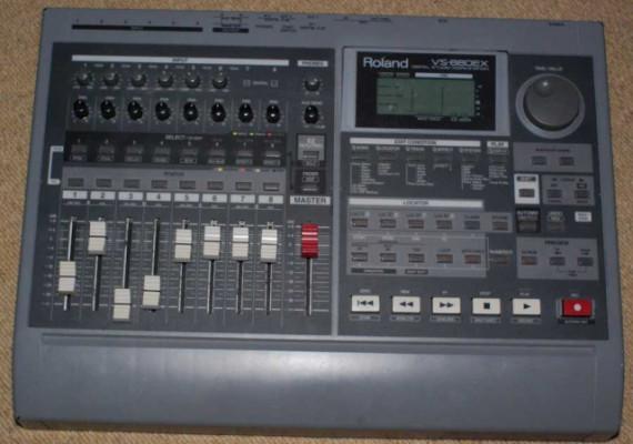 Multipistas Roland Vs 880 ex controlador midi