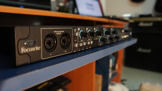 interfaz audio FOCUSRITE SAFFIRE PRO 40