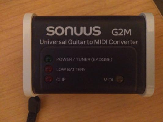 Converidor midi guitarra Sonuus G2M