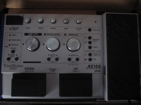 Pedalera Korg AX10g impecable  - 60€