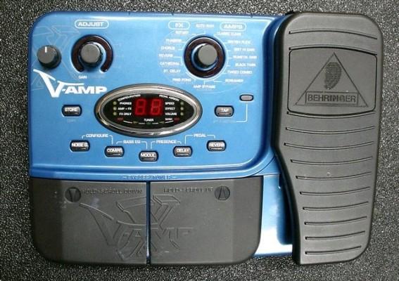 Pedalera de efectos Behringer X V-AMP LX1-X