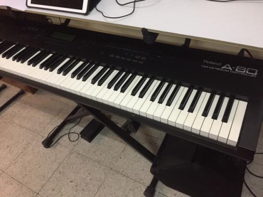 Teclado Roland A80