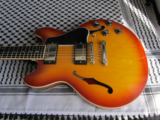 Gibson Custom Shop ES-339 Light Caramel Burst