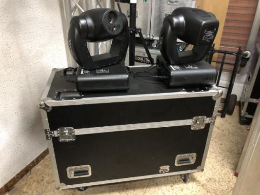 Cabezas móviles GLP 250 PRO con laser