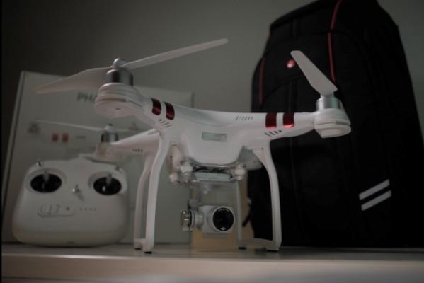 Dron DJI Phantom 3 (Mochila Aparte)