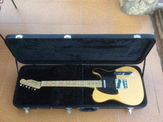 Fender Classic Player Baja Tele BL (Blonde) + Maleta Gator GWE-JAG