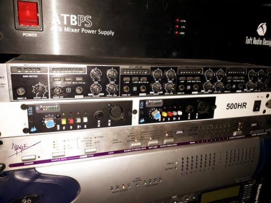 2x Api 512 C + Rack A-Designs 500 HR