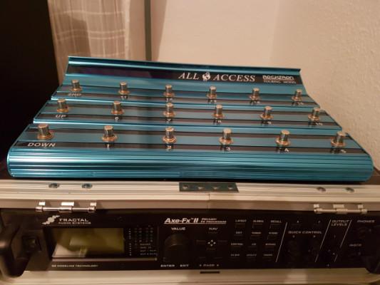 Fractal Axe fx II original + Rocktron all access