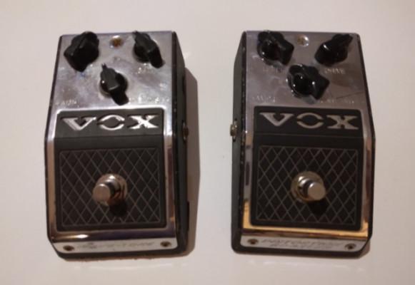 Vox V810 valve-tone y V830 distortion booster