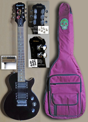 Guitarra eléctrica Epiphone 3/4 viaje