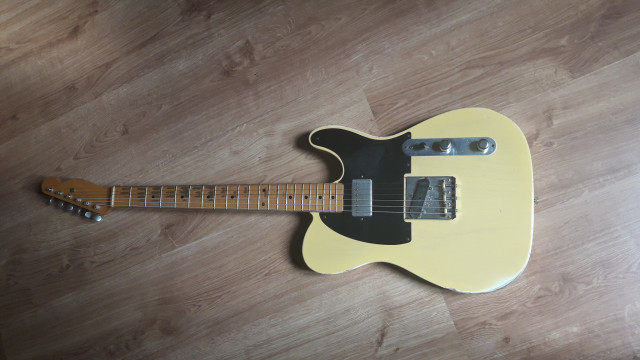 Fender Telecaster 52 Custom Shop Limited Edition Relic