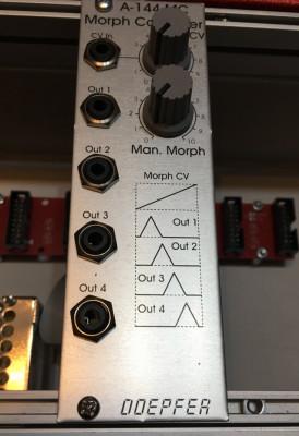 Doepfer A-144 MC Morph Controller - eurorack