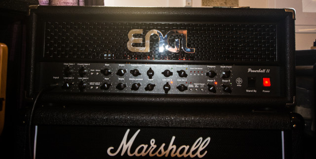 Cambio Engl Powerball 2 y footswitch Engl midi Z9