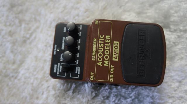 vendo pedal acoustic beheringer am100