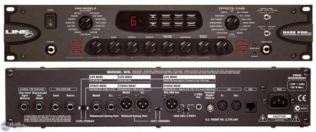 LINE 6 bass pod Pro