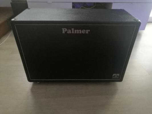 Pantalla Palmer 2x12 Con Celestion V30 y Greenback
