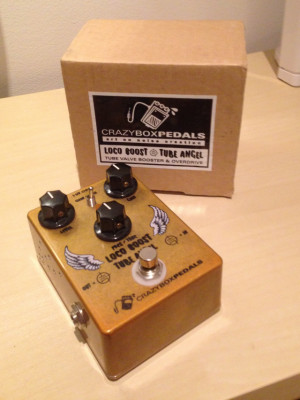 Loco boost Tube Angel de Crazybox Pedals