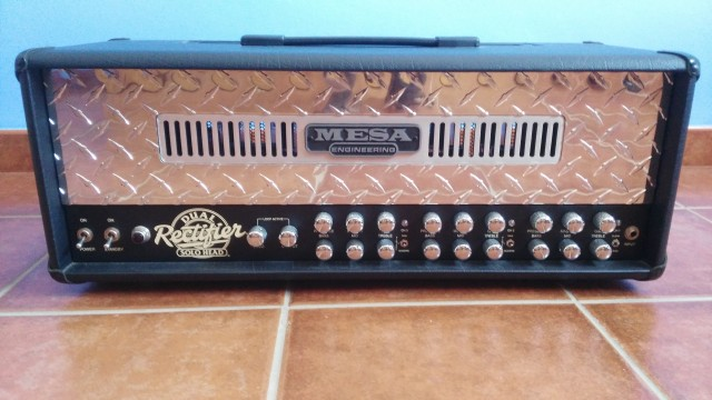 Mesa Boogie Dual Rectifier +Flight case