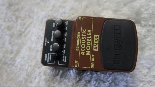 Pedal acoustic beheringer am100