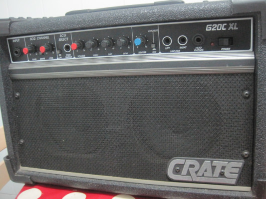Amplificador Crate G20C XL USA, tipo Roland JC-22