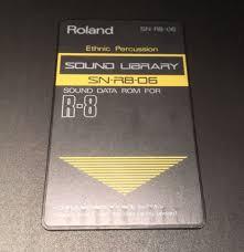 R8 Roland Tarjeta de sonidos Ethnic percusion