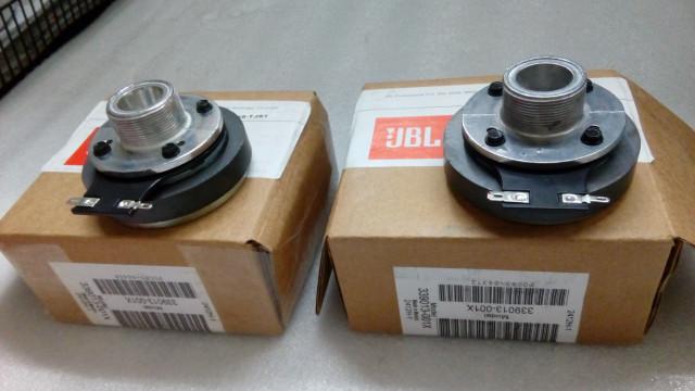 Lote de 2 Motor de Agudos JBL 2412H-1 con membrana equivalente.