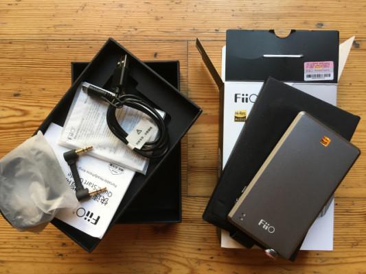 Amplificador portátil auriculares Fiio A5 (gris)