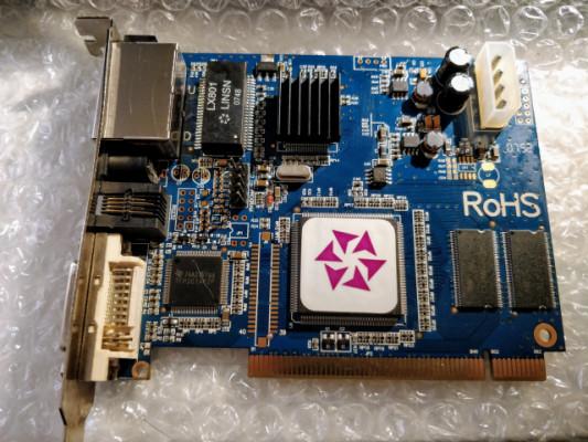 Tarjeta PCI Pantalla LED Linsn TS701