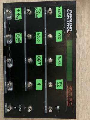 Pedalera midi Ground Control Voodoo Lab