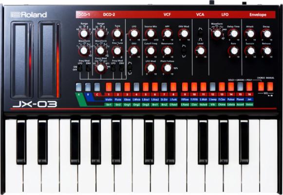 Roland Jx-03 + k-25m teclado