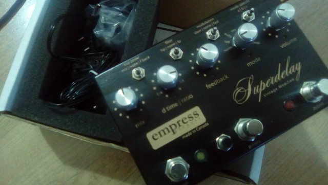 Empress Super delay Vintage Modified