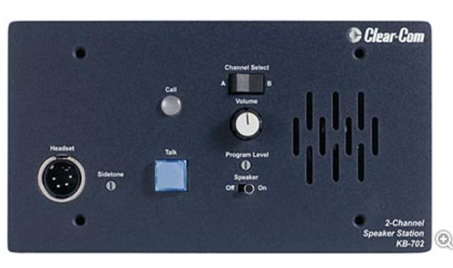 CLEAR COM kb-702