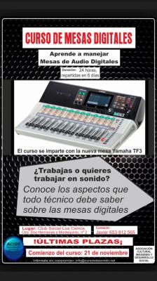 CURSO PRESENCIAL DE MESAS DIGITALES