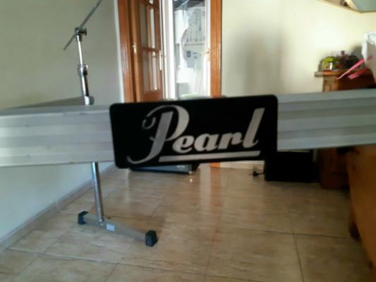 Herraje de batería Pearl DR-511 C con expansión y brazos para platos
