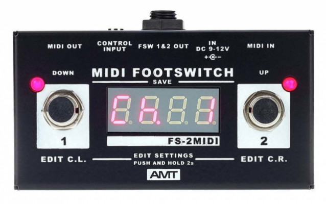 AMT FS-2 MIDI Footswitch