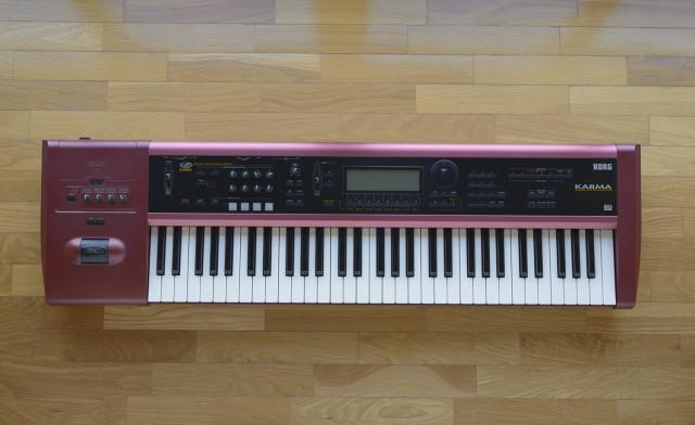 Korg Karma sintetizador workstation