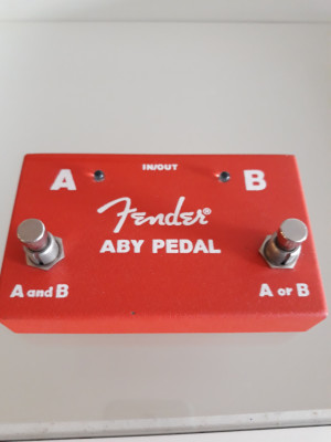 Pedal de guitarra ABY switch FENDER