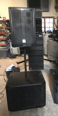 Equipo sonido master audio 4000W