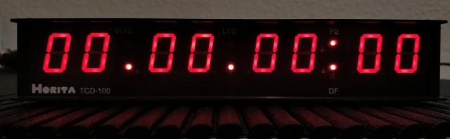 Horita TCD-100 Time Code Clock Display