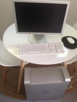 Mac pro g5+Apple display 20+teclado y raton